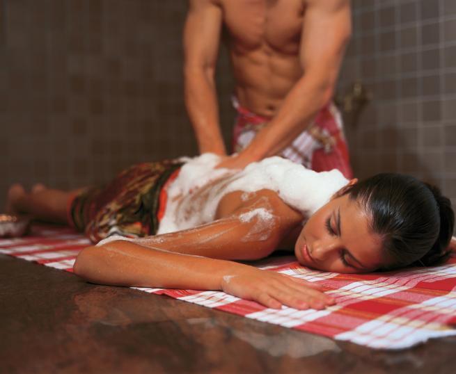 Секс с массажистом турком
